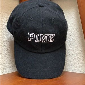 Victorias Secret PINK Snapback Wool Cap..